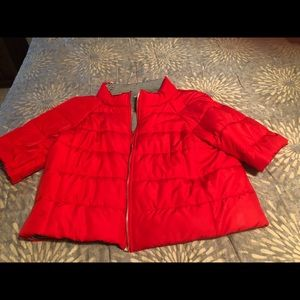 Red Chico's bomber jacket
